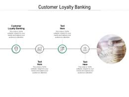 Customer Loyalty Banking Ppt Powerpoint Presentation Styles Graphics Example Cpb