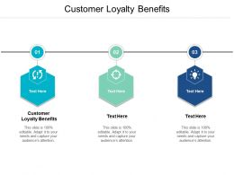 Customer Loyalty Benefits Ppt Powerpoint Presentation File Format Ideas Cpb