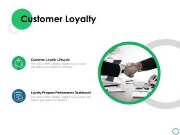 Customer Loyalty Checklist Ppt Powerpoint Presentation Icon Example