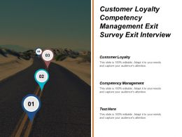 Customer Loyalty Competency Management Exit Survey Exit Interview Cpb