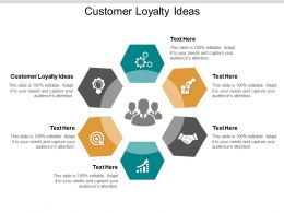 Customer Loyalty Ideas Ppt Powerpoint Presentation Show Styles Cpb