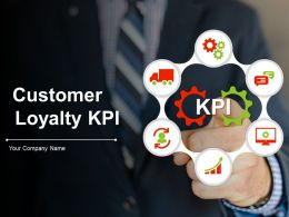 Customer Loyalty Kpi Powerpoint Presentation Slides