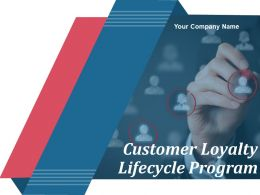 Customer Loyalty Lifecycle Program Powerpoint Presentation Slides