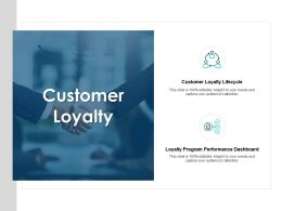Customer Loyalty Performance Dashboard Ppt Powerpoint Presentation Icon Good