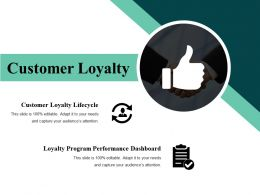 Customer Loyalty Powerpoint Slide Design Templates