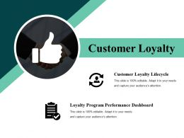 Customer Loyalty Powerpoint Slide Images