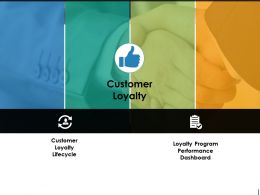 Customer Loyalty Ppt Background Images