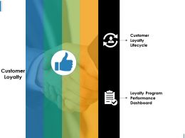 Customer Loyalty Ppt Design Templates