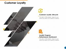 Customer Loyalty Ppt Powerpoint Presentation Pictures Example Introduction