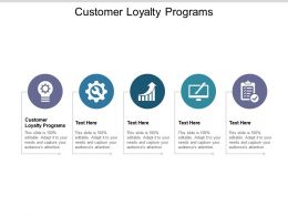 Customer Loyalty Programs Ppt Powerpoint Presentation File Example Cpb