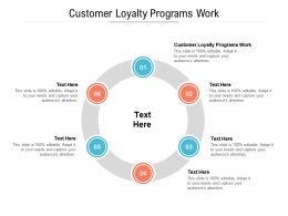 Customer Loyalty Programs Work Ppt Powerpoint Presentation Infographics Inspiration Cpb