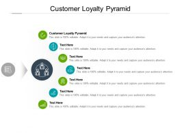 Customer Loyalty Pyramid Ppt Powerpoint Presentation Images Cpb