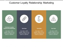 Customer Loyalty Relationship Marketing Ppt Powerpoint Presentation Infographic Cpb