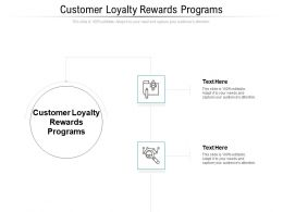 Customer Loyalty Rewards Programs Ppt Powerpoint Presentation Infographic Template Infographic Template Cpb