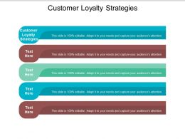 Customer Loyalty Strategies Ppt Powerpoint Presentation Infographic Template Grid Cpb