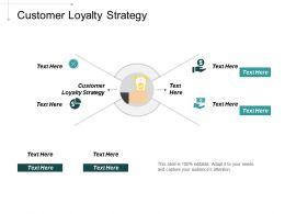 Customer Loyalty Strategy Ppt Powerpoint Presentation Portfolio Ideas Cpb
