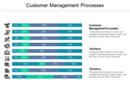Customer Management Processes Ppt Powerpoint Presentation Ideas Files Cpb