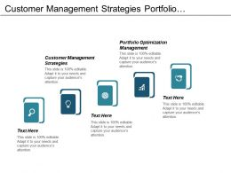 Customer Management Strategies Portfolio Optimization Management Lean Transformation Management Cpb
