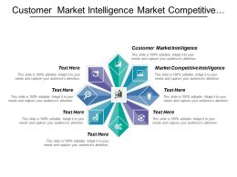 Customer Market Intelligence Market Competitive Intelligence Targeted Offering