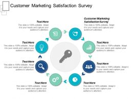 Customer Marketing Satisfaction Survey Ppt Powerpoint Presentation File Maker Cpb