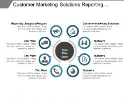 Customer Marketing Solutions Reporting Analytics Program Hire Marketing Cpb
