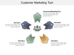 Customer Marketing Tool Ppt Powerpoint Presentation Ideas Graphic Tips Cpb