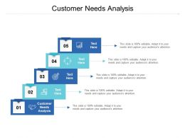 Customer Needs Analysis Ppt Powerpoint Presentation Microsoft Cpb