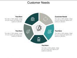 Customer Needs Ppt Powerpoint Presentation Ideas Aids Cpb