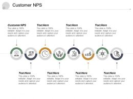 Customer NPS Ppt Powerpoint Presentation Infographic Template Background Cpb