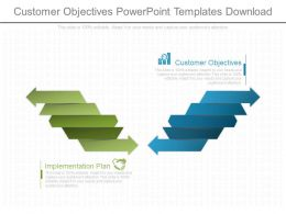 Customer Objectives Powerpoint Templates Download