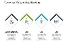 Customer Onboarding Banking Ppt Powerpoint Presentation Gallery Show Cpb
