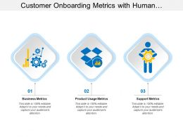 Customer Onboarding Metrics With Human Gears And Graph