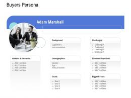 Customer Onboarding Process Buyers Persona Ppt Themes