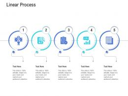 Customer Onboarding Process Linear Process Ppt Icons