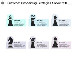 Customer Onboarding Strategies Shown With Different Chess Pieces