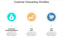 Customer Onboarding Workflow Ppt Powerpoint Presentation Inspiration Demonstration Cpb