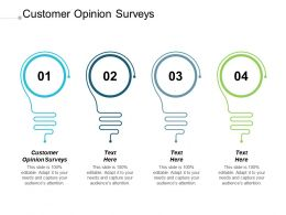 Customer Opinion Surveys Ppt Powerpoint Presentation Professional Graphics Pictures Cpb
