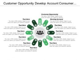 Customer Opportunity Develop Account Consumer Product Brand Image