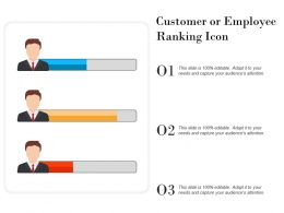 Customer Or Employee Ranking Icon