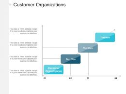 Customer Organizations Ppt Powerpoint Presentation Outline Model Cpb