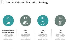 Customer Oriented Marketing Strategy Ppt Powerpoint Presentation File Microsoft Cpb