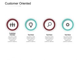 Customer Oriented Ppt Powerpoint Presentation Layouts Inspiration Cpb