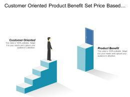 Customer Oriented Product Benefit Set Price Based Cost