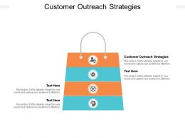 Customer Outreach Strategies Ppt Powerpoint Presentation Professional Mockup Cpb