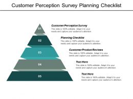 Customer Perception Survey Planning Checklist Customer Product Reviews Cpb