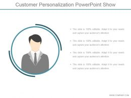 Customer Personalization Powerpoint Show