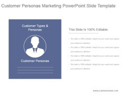 Customer Personas Marketing Powerpoint Slide Template