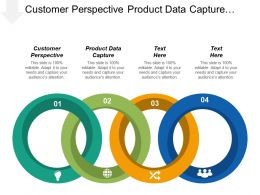 Customer Perspective Product Data Capture Learning Growth Perspective Cpb