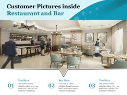 Customer Pictures Inside Restaurant And Bar