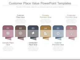 Customer Place Value Powerpoint Templates